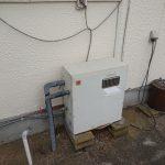 大網白里市でパーパス製ガス給湯器GN-2000AR-1へ取替。