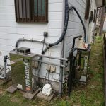 茂原市で石油給湯機からガス給湯器RUF-E2405SAW(A)へ取替。