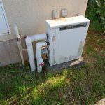 御宿町で給湯単能機へ取替。