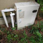 夷隅郡大多喜町で石油給湯機の取替。