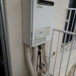 成田市でガス給湯器(給湯専用)の取替。