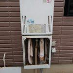 茂原市でパーパス製ガス給湯器エコジョーズへ取替。