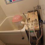 千葉市緑区でバランス釜から壁貫通型給湯器へ取替。