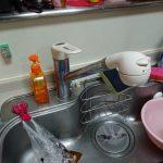 習志野市でキッチン用水栓の取替。