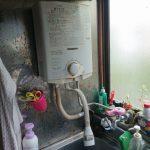 茂原市で瞬間湯沸かし器の取替。