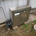 長生郡長南町で石油給湯機の取替。