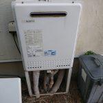 千葉市緑区でノーリツ製ガス給湯器の取替。