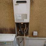 大網白里市でガス給湯器(給湯専用)の取替。