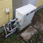 市原市で浴室隣接型給湯器をエコジョーズへ取替。