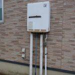 九十九里町でガス給湯器(給湯専用)をエコジョーズへ取替。