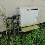大網白里市でガス給湯器から石油給湯機へ取替。