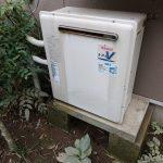 茂原市でノーリツ製ガス給湯器エコジョーズへ取替。