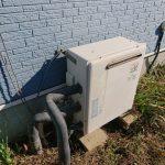 茂原市でガス給湯器の取替。
