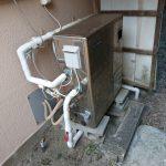 勝浦市でノーリツ製石油給湯機へ取替。