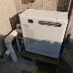 長生村でノーリツ製エコジョーズGT-C2462SARXへ取替。