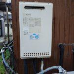 大多喜町でガス給湯器(給湯専用)の取替。