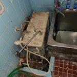 浦安市でリンナイ製バランス釜の取替。