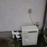 勝浦市で浴室隣接型給湯器から壁掛け型給湯器へ取替。