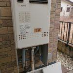 市原市でノーリツ製ガス給湯器エコジョーズへ取替。
