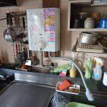 千葉市稲毛区でガス瞬間湯沸かし器の取替。