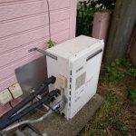 長生村でノーリツ製エコジョーズGT-C2062SARXへ取替。