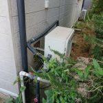 茂原市で浴室隣接型給湯器をエコジョーズGRQ-C2062SAXへ取替。