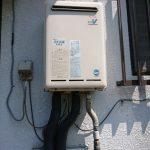成田市で給湯専用機の取替。