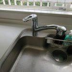 木更津市でキッチン用水栓の取替
