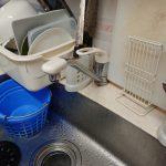 茂原市でキッチン水栓の取替