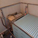 市原市でバランス釜から壁貫通型給湯器へ取替