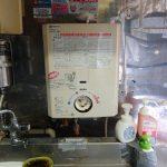 木更津市でガス瞬間湯沸かし器の取替